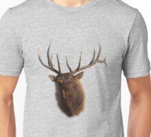 Elk Charging Unisex T-Shirt