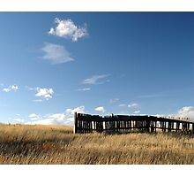Fenced Horizon Photographic Print