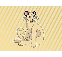 Cutie persian Pokemon  Photographic Print