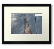 Past Honors Framed Print