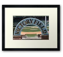 Welcome Diamond Framed Print