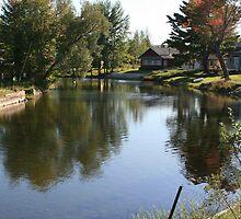 Long Lake Thoroughfare by Brenda Dow