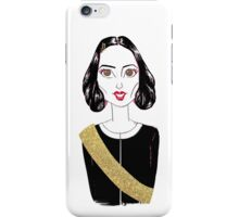 look at the mayor's golden sash iPhone Case/Skin