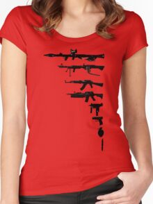 wEAPONs Women's Fitted Scoop T-Shirt
