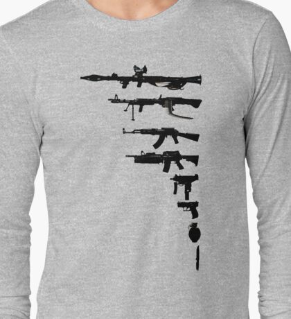 wEAPONs Long Sleeve T-Shirt