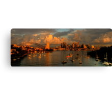 Silence Before The Storm#2 - Photographers Cut - Moods of A City , Sydney - The HDR Experience Canvas Print