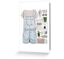 Fashion Collage Greeting Card
