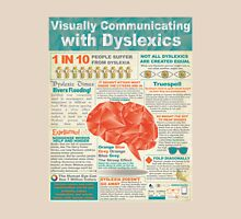 Visually Communicating with Dyslexics Infrographic Unisex T-Shirt