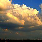 A Summer sky before sundown....... by Larry Llewellyn