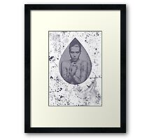 One drop and some splashes Framed Print