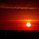 A Canadian Sunset........ earlier than other parts of the world...  by Larry Llewellyn