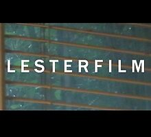 "Still image for newest ""Lesterfilm"" intro logo by Jon Lester"