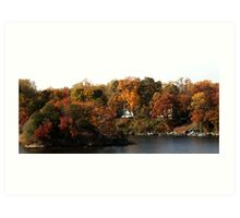 Annapolis in the Fall Art Print