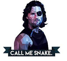 Snake Plissken by agirlandherpug