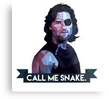 Snake Plissken Metal Print
