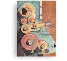 Gears Canvas Print