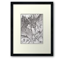 DRAGONS TREASURE Framed Print