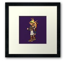 Jak and Daxter Framed Print