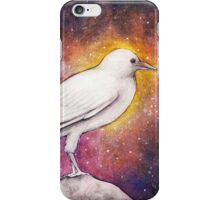 White Crow Wanderer iPhone Case/Skin