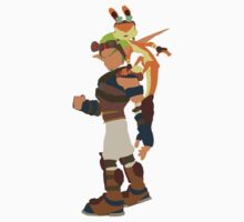 Jak and Daxter One Piece - Short Sleeve