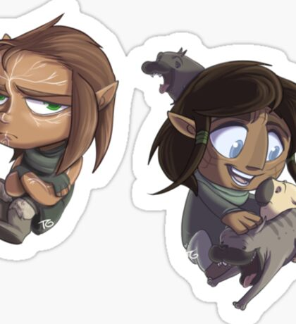 """""""Brothers"""" in Arms... Sort Of Sticker"""