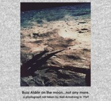 Buzz Aldrin not on the Moon by Juilee  Pryor