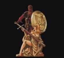 Deadpool Knight by Gento