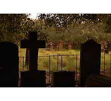 Newtown graveyard. Photographic Print