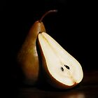 Bosc Pears by Rachel Slepekis