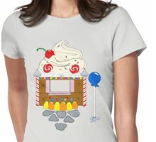 Candy Theater Womens Fitted T-Shirt