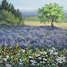 Lavender and Wildflowers by Karen Ilari