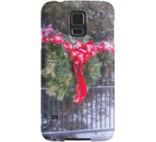 I'll Be Home For Christmas Samsung Galaxy Case/Skin