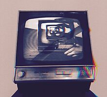 TV HEAD VINTAGE by Lucy Young