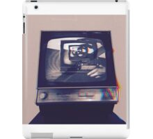 TV HEAD VINTAGE iPad Case/Skin