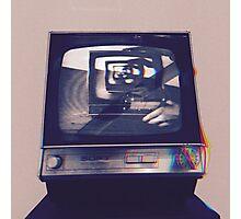 TV HEAD VINTAGE Photographic Print