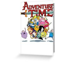Adventure Time World Greeting Card