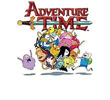 Adventure Time World Photographic Print