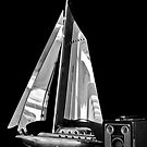 SAILS AND BROWNIE by Thomas Barker-Detwiler