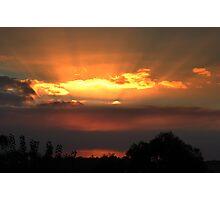 Rays Of Sunshine.  Photographic Print