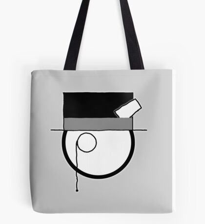Cartoon Face 4 - Monocled Toff [Big] Tote Bag