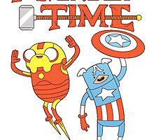 Adventure Time Avenger by Park Jennifer