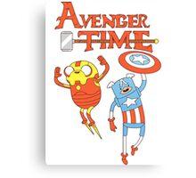 Adventure Time Avenger Canvas Print