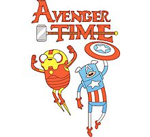 Adventure Time Avenger Photographic Print