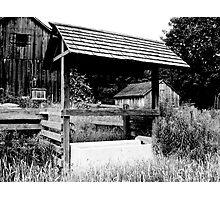 Empty in Black & White Photographic Print