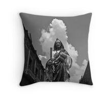 San Judas Tadeo Throw Pillow
