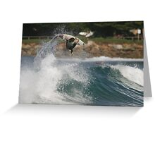 DAMIEN WILLS AVOCA AIR Greeting Card