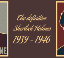 The Definitive Holmes BR - Rustic (Card) Sticker
