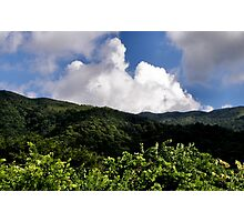 Hong Kong Mountain Landscape Photographic Print