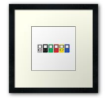 Gameboy Original Framed Print