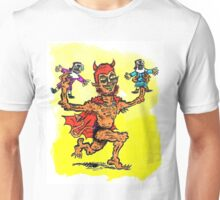 The Devil Plays with Dolls Unisex T-Shirt